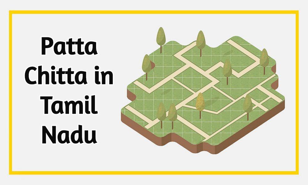 Patta Chitta Tamil Nadu
