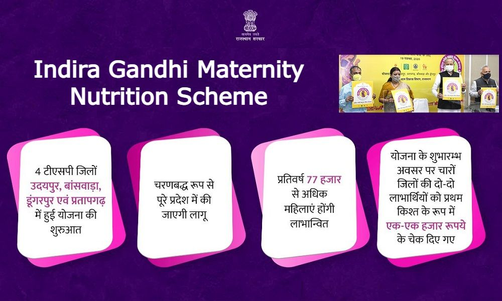 Indira Gandhi Maternity Nutrition Scheme