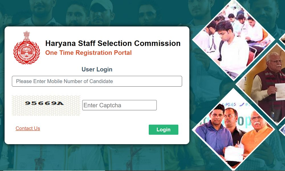 HSSC One Time Registration Portal