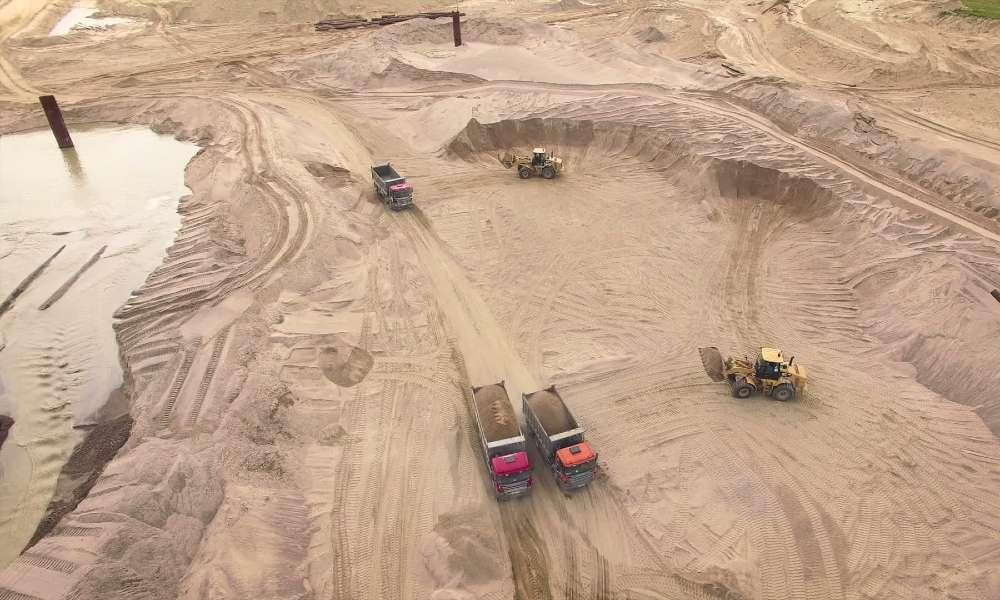 Tamil Nadu Sand Quarry