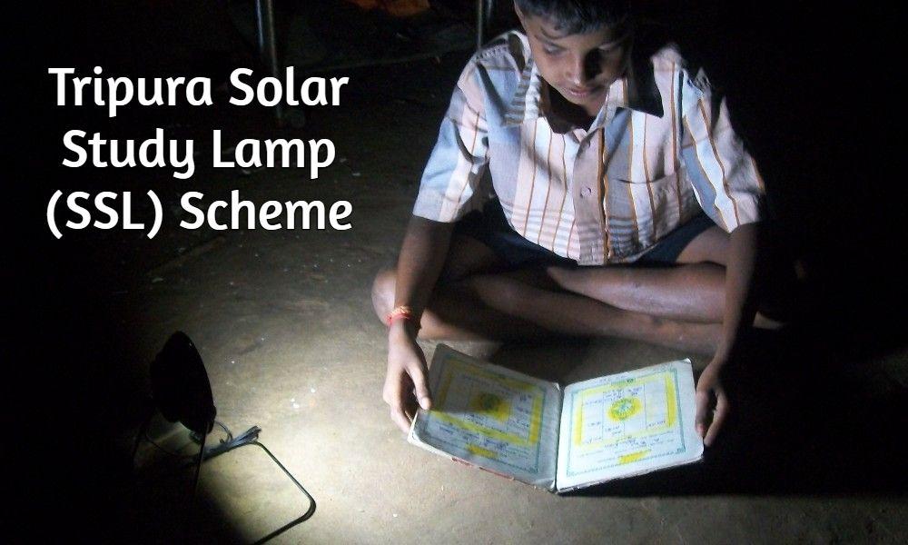 Solar Study Lamp (SSL) Scheme