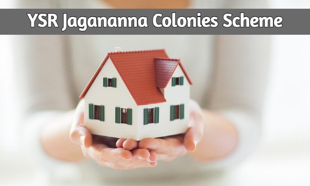 YSR Jagananna Colonies Scheme