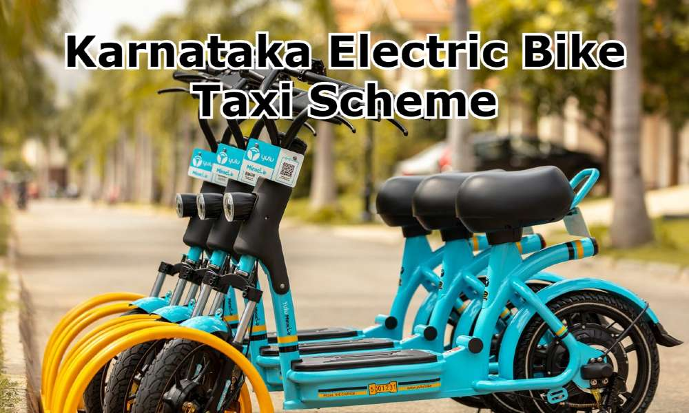 Karnataka Electric Bike Taxi Scheme